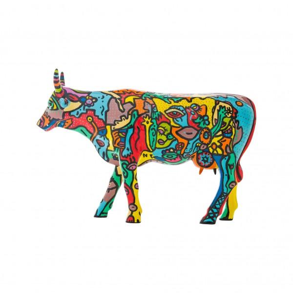 Cowparade large Moo York Celebration