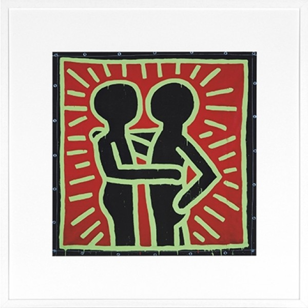 Keith Haring -Couple in Black