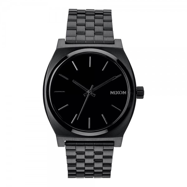 NIXON WATCH TIME TELLER BLACK